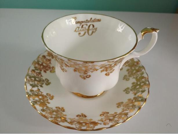Royal Albert 50th Anniversary Bone China England Tea Cup