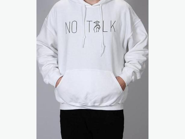 No Talk - Hoodies