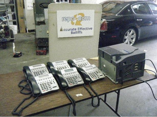 NEC 1PK II Phone System