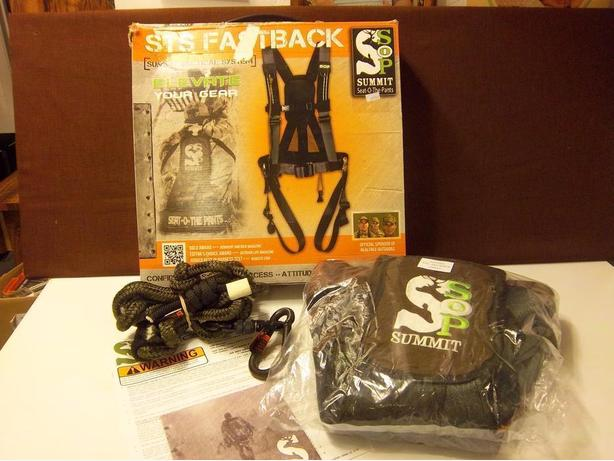 """STS"" Fastback harness Size Large   NEW  REDUCED"