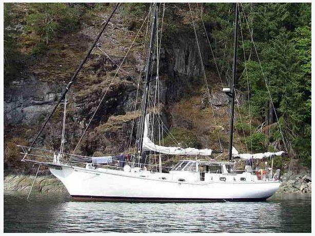 Ketch Motorsailer - Cruising Live-Aboard - Elrond