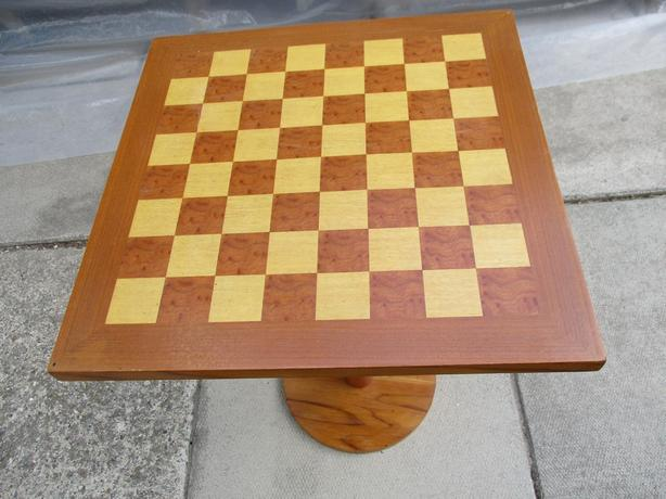 ESTATE TEAK CHESS BOARD