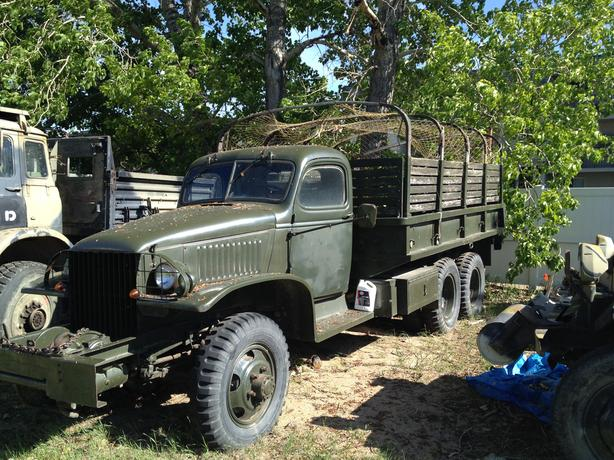 Millitary truck sale