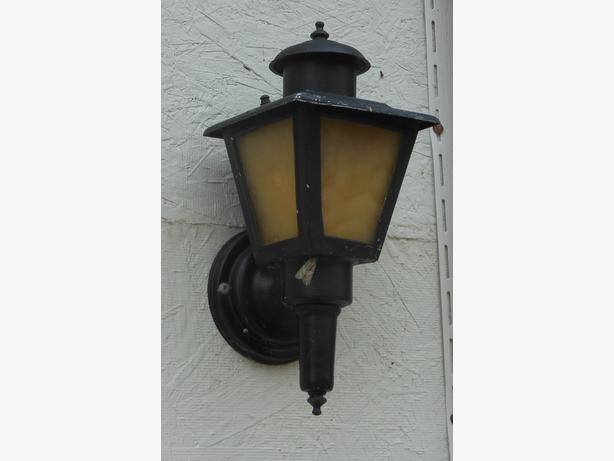 Vintage, retro exterior lights - qty 2