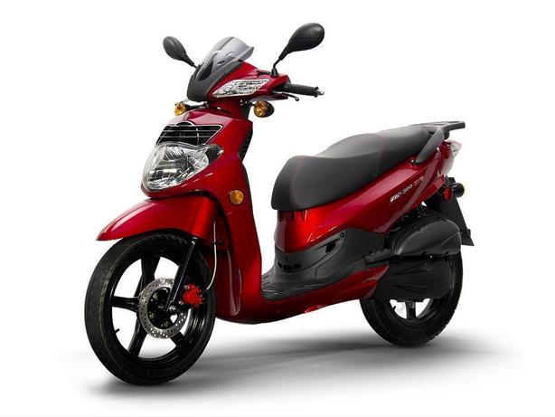 NEW! SYM HD200 200cc Scooter Motorcycle @ Tuff City Powersports