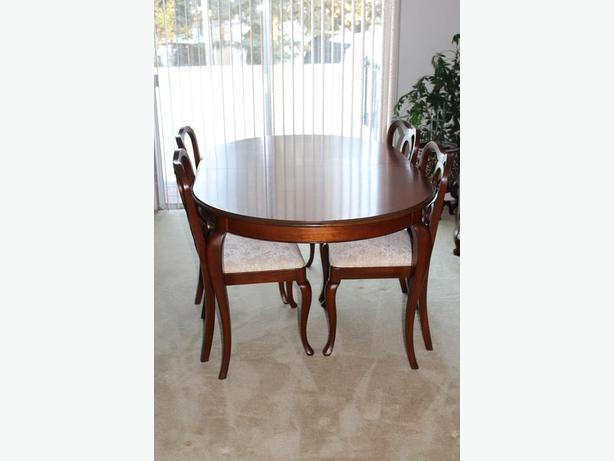 Dining Table Chairs China Cabinet Buffet