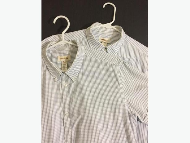 2 Diesel short sleeve button ups - $20 each or $35 for both