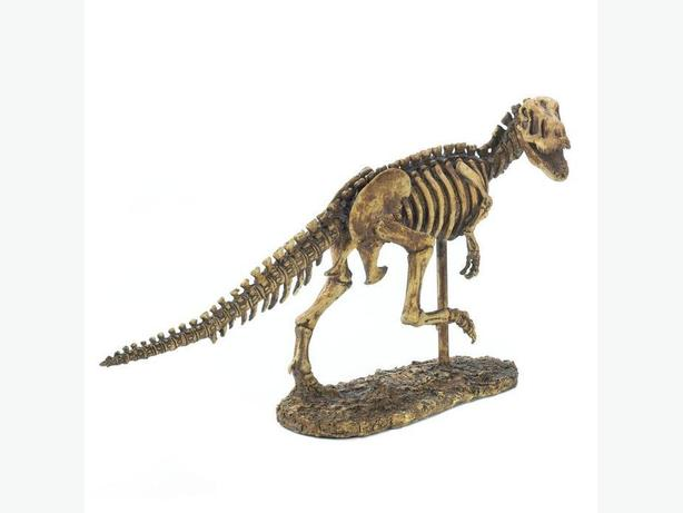 Intricately-Detailed T-Rex Dinosaur Skeleton Statue Ornament New