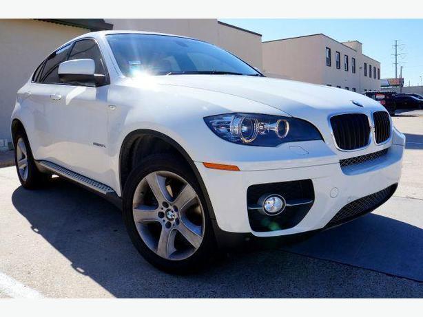 2011 White BMW X6