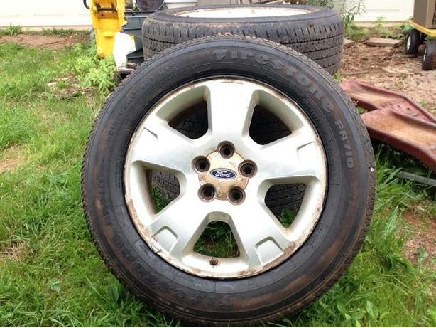17 inch ford rims