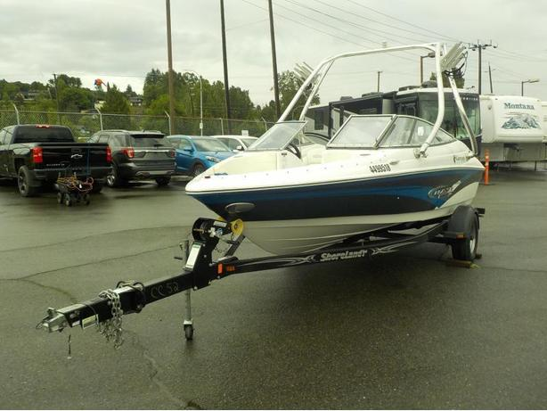 2014 Campion Chase 530 Performance Boat with Trailer and Wake Tower