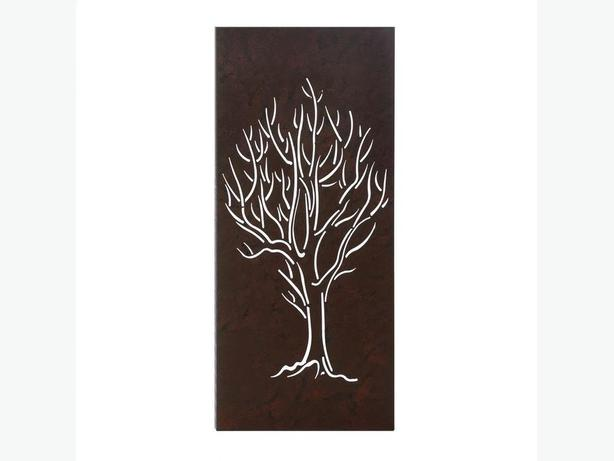Nature Theme Metal Wall Art Tree Iris Bloom Cattail 3 Different Choose Any 2 NEW
