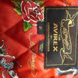Ed Hardy for Avirex by Christian Audigier Leather Jacket
