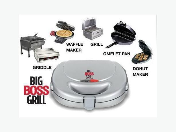 Mint Condition Big Boss Grill 7pcs Set