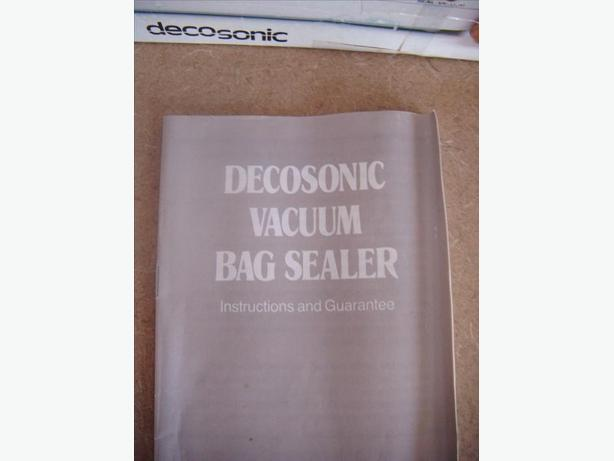 Vacuum Bag Sealer West Shore Langfordcolwoodmetchosinhighlands