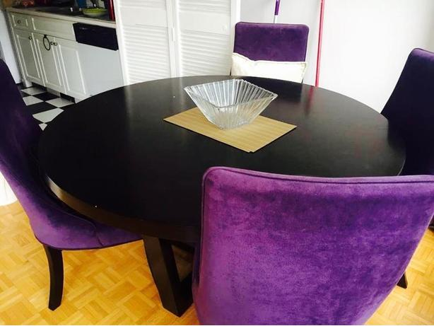 Dining Table with 4 dining chairs