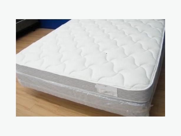 New queen mattress set still in plastic