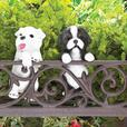 Dog Lover Mixed Lot Flowerpot Plant Climber Welcome Wall Plaque 4PC NEW