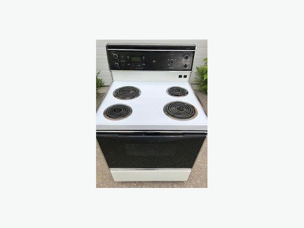 GE Self-Clean Electric Range