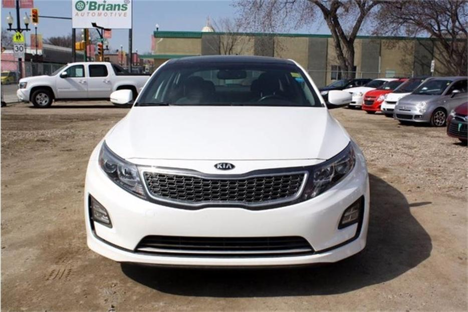 2014 kia optima hybrid ex accident free w mfg warranty outside south saskatchewan regina. Black Bedroom Furniture Sets. Home Design Ideas