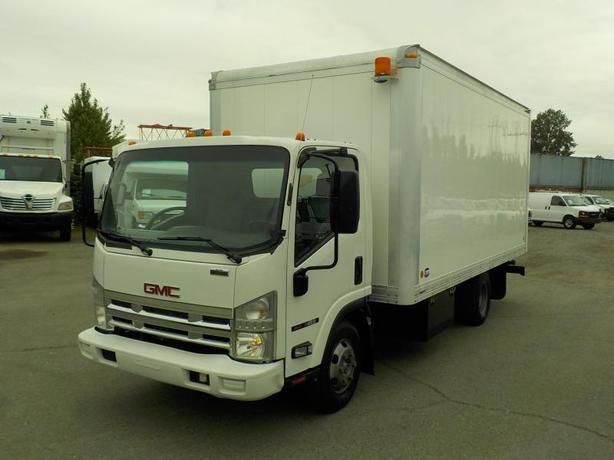 2008 GMC W4500 16 Foot Cube Van Dually Diesel