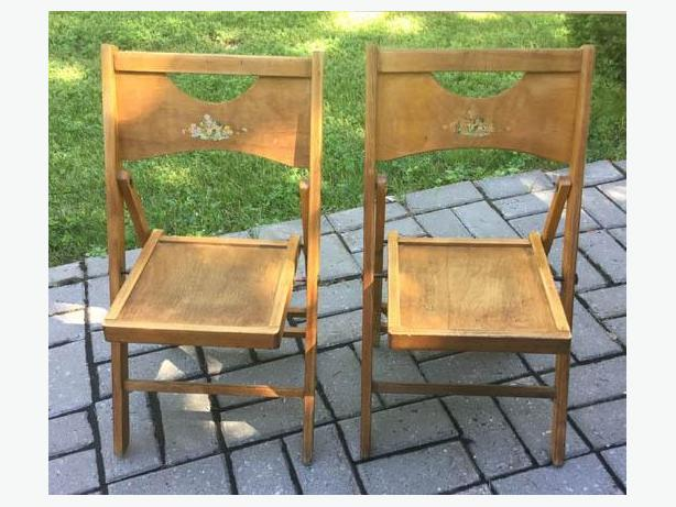 Two Lovely Vintage Child/Small persons Chairs