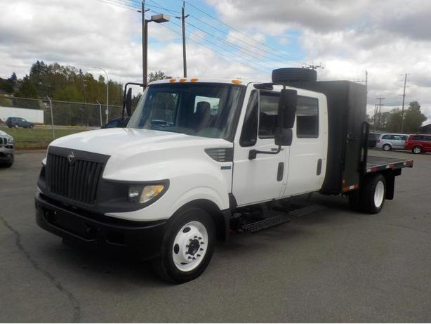 "2012 International TerraStar 9 Feet By 8""5 Feet Flat Deck Diesel"