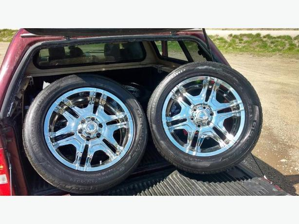 20 inch Boss Motorsport Chrome Rims