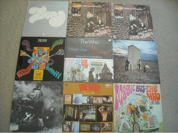 "SELLING MY ""THE WHO"" VINYL COLLECTION"