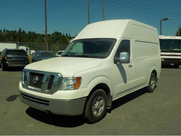 2012 Nissan NV Cargo 2500 HD S V6 High Roof with Rear Shelving and Bulkhead Divi