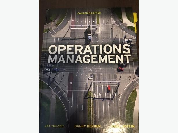 Operations Management Canadian Edition