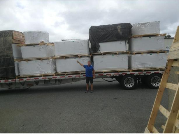 TRUCKLOAD OF HOT TUBS JUST ARRIVED....SUMMER SIZZLE SALE