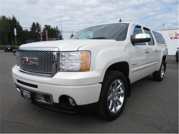 2013 GMC Sierra 1500 Denali/DIAMOND WHITE/LEATHER/6