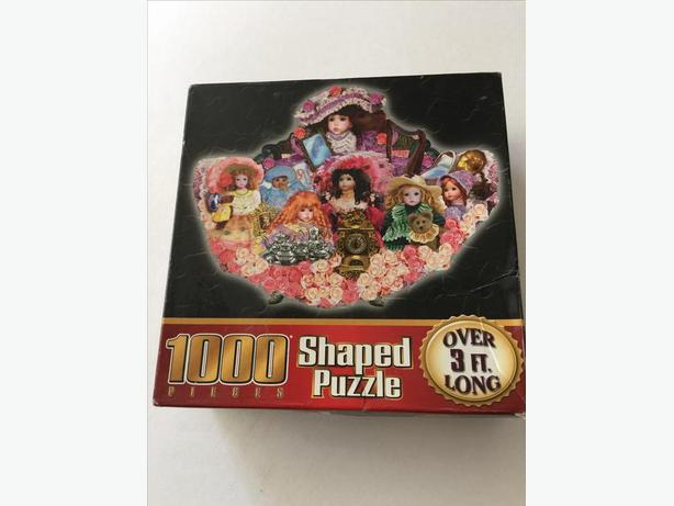 Dolls Shaped Puzzle