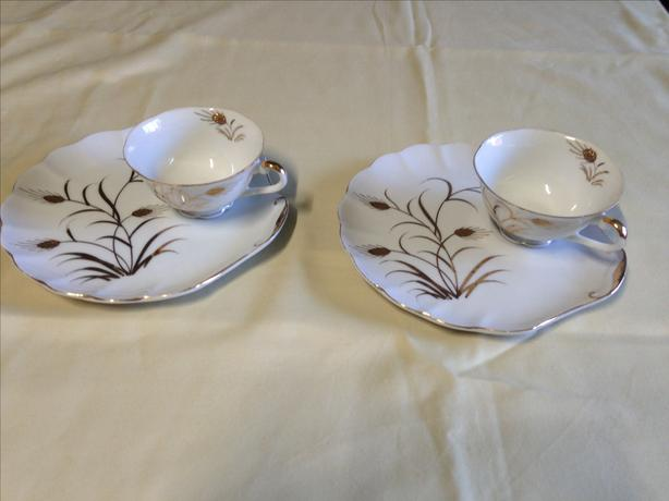Vintage L'Amour China Luncheon Plate & Tea Cup