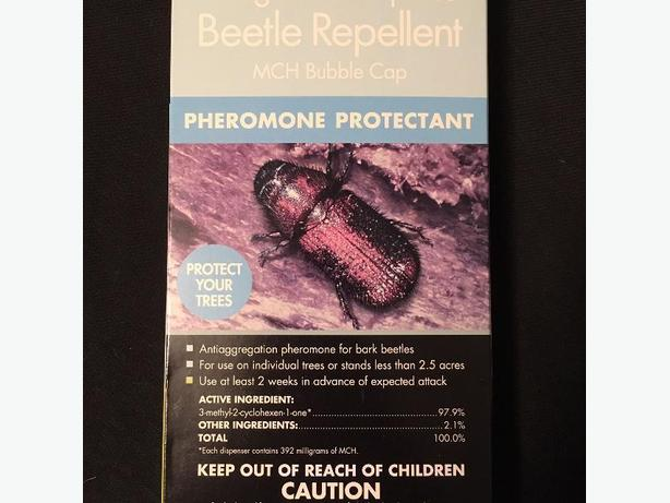 Brand New Douglas-Fir & Spruce Beetle Repellent