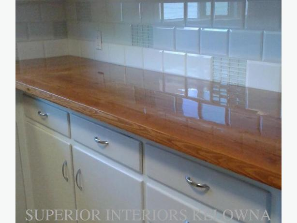 Custom Solid Wood Counters