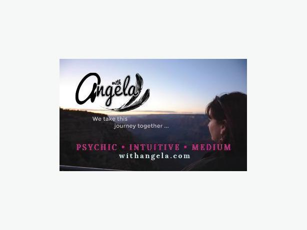Give the gift of a reading with Angela- Psychic Intuitive Medium!