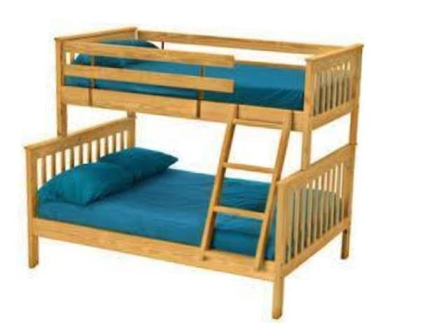 Bunk Bed And Matching Dresser Double Bottom Single Top Saanich