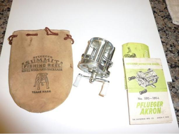 Vintage PFLÜGER reel