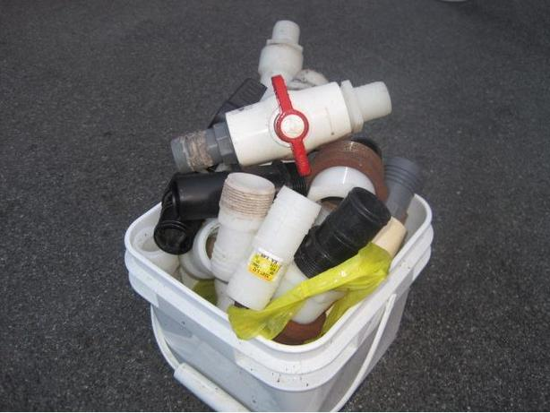 pool shut off valves and connectors