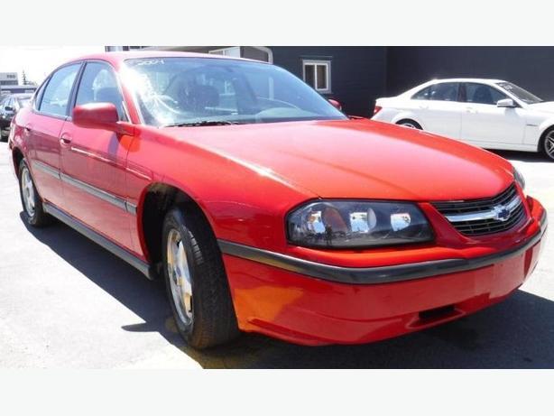 Attractive 2004 Chevrolet Impala Sedan, Automatic ,Attractive Red,DEAL