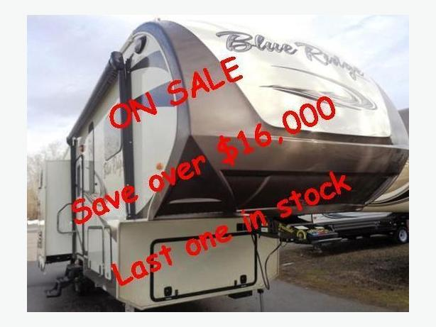 2016 Forest River Blue Ridge 2910SK Deluxe 5th Wheel