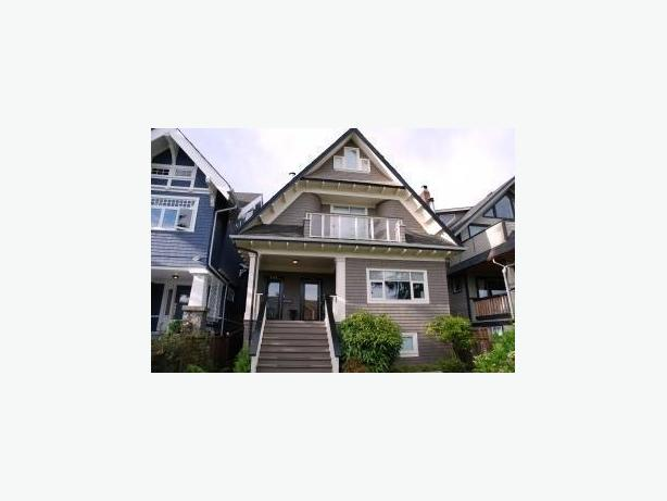 Furnished Kitsilano Character 3 Bedroom Duplex Home near Beach #135W