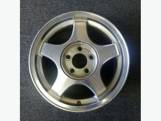 "2 - 16"" GM Alloy Rims with mounted tires. Fit Impala and Century"