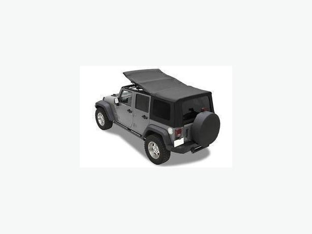Jeep Wrangler Unlimited Premium soft top kit **never installed
