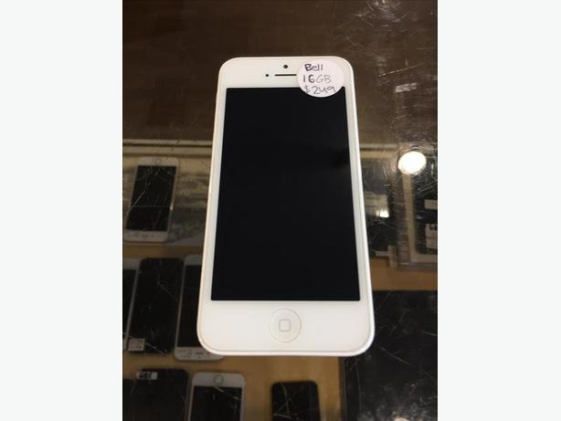 UNLOCKED iPhone 5C 16 GB White w/ Warranty!