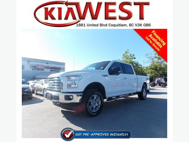 2016 Ford F150 XLT SuperCrew V8 4X4