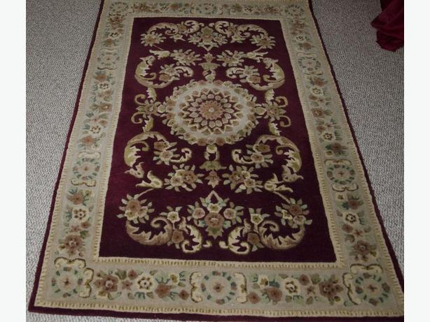 2 - BRITISH INDIA WOOL RUGS - $500 EACH
