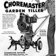 Rototiller ~ Vintage 1955 Choremaster